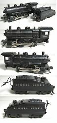 LIONEL 1656 1656 SWITCHER 0-4-0 AND SLOPED BACK TENDER WITH RINGING BELL