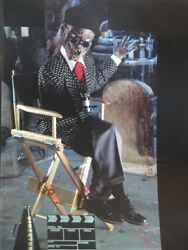 Vtg Tales From The Crypt Director Master Cassette Islands Of Death Chrome Film