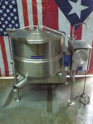 Cleveland Tilting KGL-40T Natural Gas Jacketed Tilt Steam Kettle