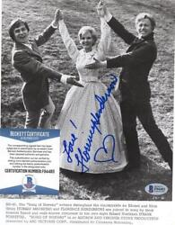 Florence Henderson Song Of Norway Classic Signed Autographed 8x10 Photo Bas F94