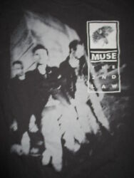 2012 Muse The 2nd Law Concert Tour Xs T-shirt