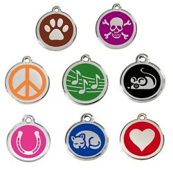 Dog / Cat Tags - Guaranteed For Life And Engraved To Your Wording