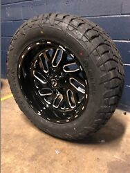20x10 Fuel D581 Triton 33 At Wheel And Tire Package 6x5.5 2019 Dodge Ram 1500