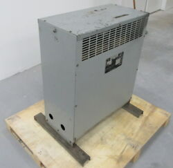 Fpe 27484-022 Transformer 75kva Continuous Hv-480 Lv-208 Y/120 Tested