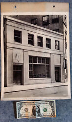1930 Cabinet Photo Lot Keystone Bank Interior And Exterior Pittsburgh Pa 5th Ave