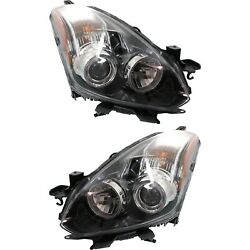Capa Halogen Headlight Set Left And Right For 2010-2013 Nissan Altima S Coupe