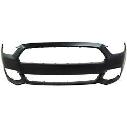 Capa Bumper Cover Fascia Front For Ford Mustang 15-17 Fo1000704 Fr3z17d957aaptm