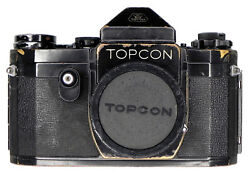 """Topcon Black Paint"""" R Body  156957 .......... Extremely Rare"""