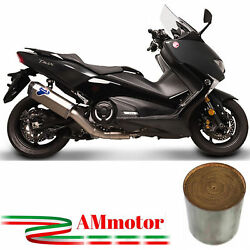 Termignoni For Yamaha T-max 530 2017 Full Exhaust System Titanium Approved