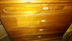 Dresser - Antique Solid Wood Pickup Only Nyc - Inwood Park Ter E