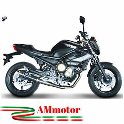Full Exhaust System Termignoni Yamaha Xj6-diversion 2010 Silencer Round Carbon