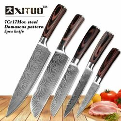 Kitchen Knife Set Stainless Steel Cutlery Chef Knives For Piece Cooking Tools