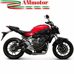 Full Exhaust System Termignoni Yamaha Mt-07 2015 15 Silencer Relevance Carbon