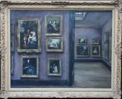LILY DELISSA JOSEPH BRITISH OIL PAINTING NATIONAL GALLERY SUFFRAGETTE ART RA EX
