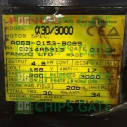 1pcs Used Fanuc A06b-0153-b089 Tested In Good Condition