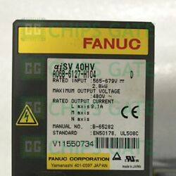 1pcs Used Fanuc A06b-6127-h104 Servo Amplifier In Good Condition