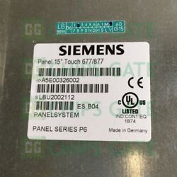 1pcs Used Siemens A5e00326002 Tested In Good Condition