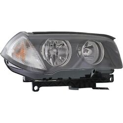 Headlight For 2007 2008 2009 2010 Bmw X3 Right Clear Lens With Bulb
