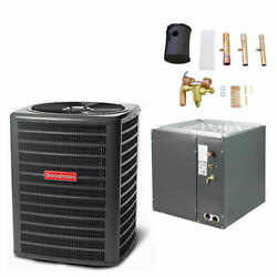 Goodman - 2 Ton Air Conditioner + Coil Kit - 14.0 Seer - 24.5 Coil Width - F...
