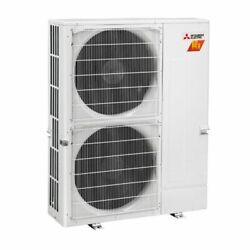 Mitsubishi - 48k BTU - M-Series H2i Outdoor Condenser - For 2-8 Zones
