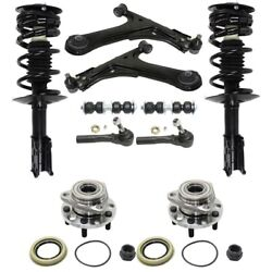 Control Arm Kit For 99-2005 Chevrolet Cavalier Set Of 10 Front Left And Right