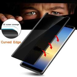 Galaxy S9 Plus Privacy Glass Screen Protector (Privacy) Full [Case Friendly]...