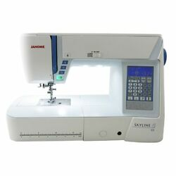 Janome Skyline S5 S 5 Sewing and Quilting Machine with Bonus Bundle