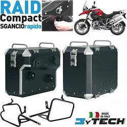 Compact Side Panniers Cases 33+ 39 Lt Quick Release Bmw 1200 R Gs K25 And039 03and039/12