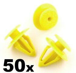 50x Audi Interior Plastic Trim Clips For Door Cards And Mouldings