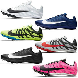 Nike Zoom Rival S 9 Mens Track Spikes Sprint Racing Shoes Cleats, Pick Size