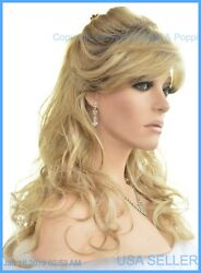 Avery Noriko Wig Synthetic Full Wavy Classic Color Creamy Toffee R Soft Sexy
