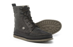 New Sperry Top Sider Black Surplus Boots Mens 9.5 Sts16287