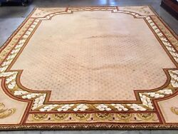 Couristan 100% New Zealand Wool Hand Tufted 12'x15' Custom for dining room.