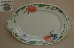 Villeroy And Boch Amapola 14.5 Oval Serving Plate