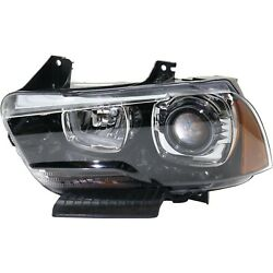 Capa Headlight For 2011-2014 Dodge Charger Driver Side