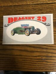 1970 Topps Way Out Wheels Dragnet 29. Bilingual French And English.