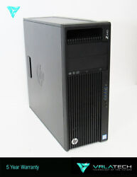 HP Z440 Workstation E5-1660v4 64GB RAM 1x 512GB SSD & 1x 2TB HDD P6000
