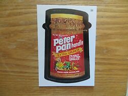 2004 WACKY PACKAGES ANS1 SERIES 1 PETER PANHANDLE CARD SIGNED JAY LYNCHPOA