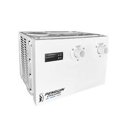 Penguin Chillers 1/2 Hp He High Efficiency Water Chiller Bait Holding Tanks