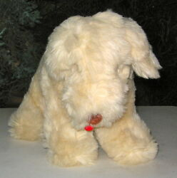 SOFT COATED WHEATEN TERRIER LARGE PLUSH STANDING DOG