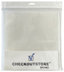 Cos Clear Plastic Cpp For 12 Vinyl 33 Rpm Records Outer Sleeves
