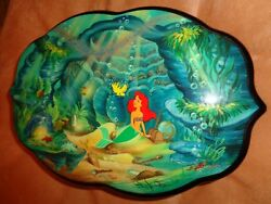 Rare Limited Edition Disney Reuge Music Box - The Little Mermaid 3 songs 72 note