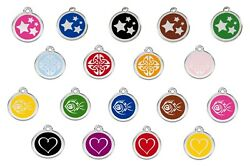 Dog / Cat Tags - Fully Engraved To Your Wording And Guaranteed For Life