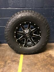 17x9 D538 Fuel Maverick 33 At Wheel And Tire Package 6x5.5 Chevy Silverado 1500
