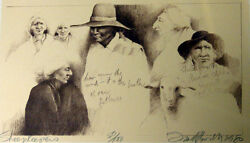 Frank Howell Sheep Keepers Original Signed Numbered Art Lithograph Submit Offer