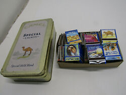 Old Camel Cigarettes Collectors Tin Special Mild Blend 49 Books Of Matches