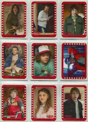 Stranger Things Season 1 Scene Stickers Complete 10 Card Set 1 to 10