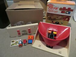 Tonka Tote Deluxe Construction Set 135 Complete Mib With 2 Trucks