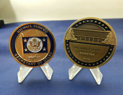 Michael Pompeo Secretary Of State And Director Of The Cia Challenge Coin Set Of 2