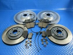 Bentley Continental Gt Gtc Flying Spur Front Rear Brake Pads Rotors 5800